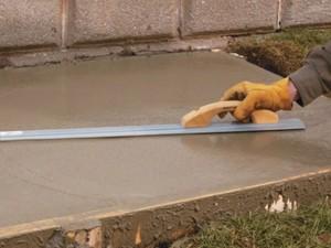 Aljzat betonozás